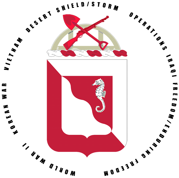 14th Combat Engineer Battalion Association Logo
